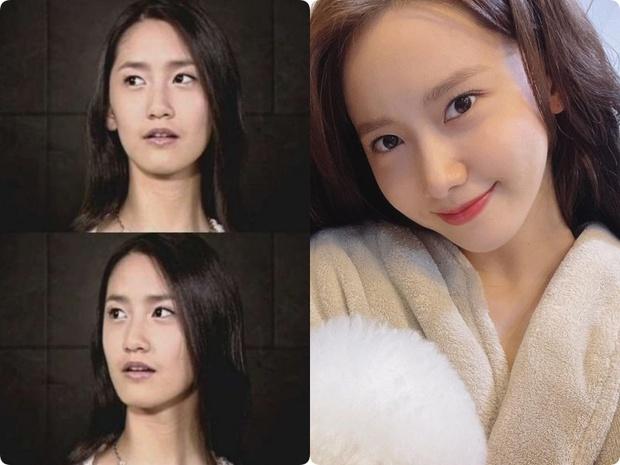 Sao Hàn từ da đen nhẻm lột xác trắng mịn, hồng hào: Đến Yoona cũng phải có chiêu dưỡng trắng riêng mình - Ảnh 1.