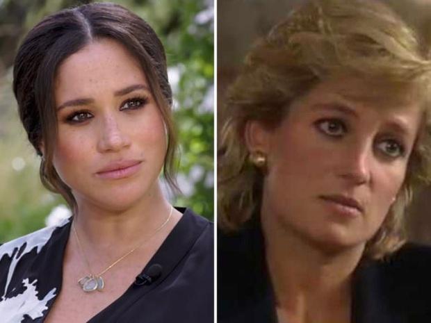 Sao chép Công nương Diana trong cuộc phỏng vấn bom tấn, Meghan Markle đang chịu chung nỗi khổ với mẹ chồng quá cố hay lợi dụng hào quang để nổi tiếng? - Ảnh 8.