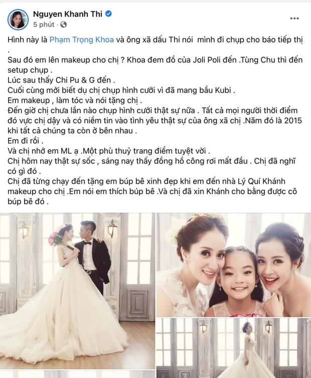 Điềm báo Khánh Thi gặp phải vào buổi sáng cùng ngày phù thuỷ trang điểm Minh Lộc qua đời - Ảnh 2.