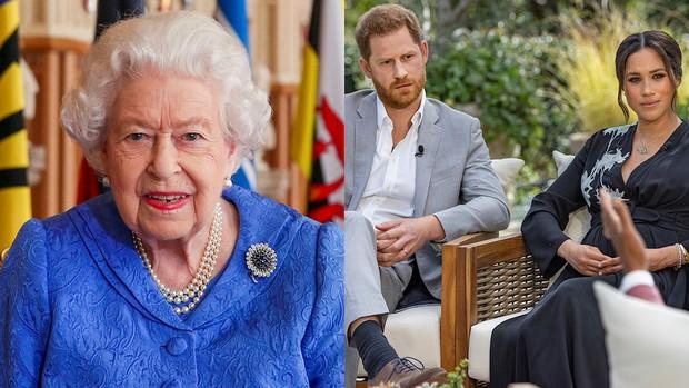 """Nữ hoàng Anh chính thức đưa ra lời phản bác """"cao tay"""" trước loạt cáo buộc của Meghan - Harry, cuộc chiến Hoàng gia ngày càng thêm căng thẳng - Ảnh 1."""