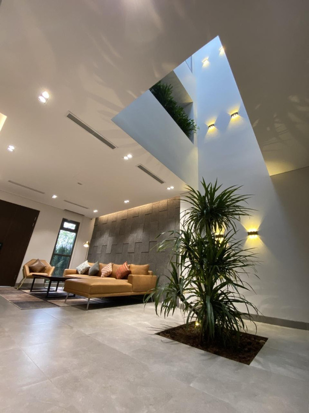 Cặp vợ chồng tự tay thiết kế nhà như khách sạn 5 sao, góc nào cũng xịn-mịn-sang ngỡ ngàng - Ảnh 10.