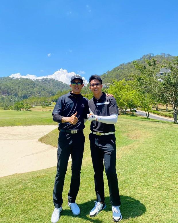 Bồ cũ Hương Giang hẹn Matt Liu đi đánh golf, là ai? - Ảnh 1.