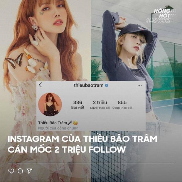 Hậu drama chia tay Sơn Tùng M-TP, Thiều Bảo Trâm hốt bạc với chỉ số khủng trên mạng xã hội! - Ảnh 3.