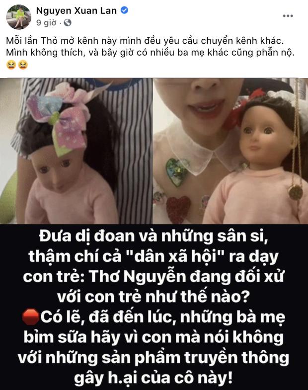 Xuân Lan, Jun Phạm phẫn nộ vì clip xin vía học giỏi của Thơ Nguyễn, hé lộ cách giúp con trẻ tránh bị ảnh hưởng xấu - Ảnh 2.