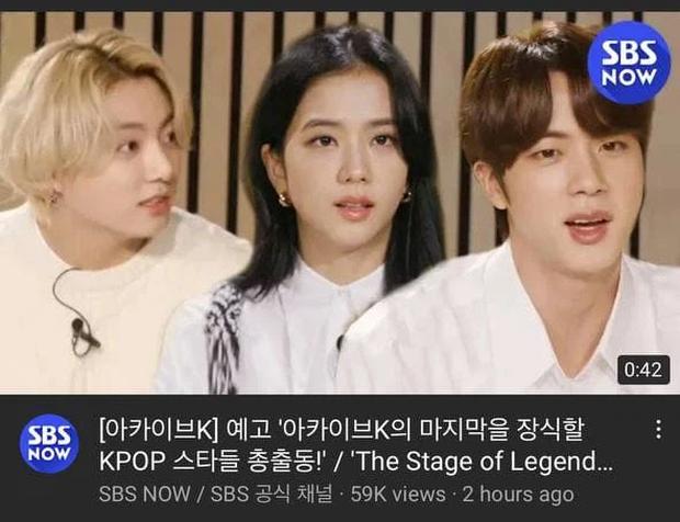Náo loạn clip Jisoo (BLACKPINK) phỏng vấn cùng Jungkook - Jin (BTS), thực hư ra sao mà fan tranh cãi rầm rộ thế này? - Ảnh 2.