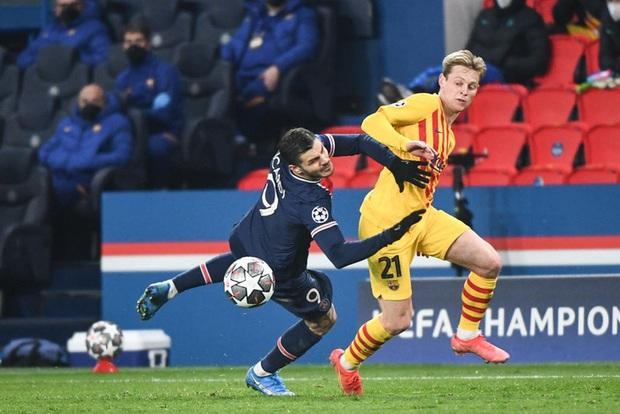 Messi đá hỏng phạt đền, Barca bị loại khỏi Champions League - Ảnh 2.