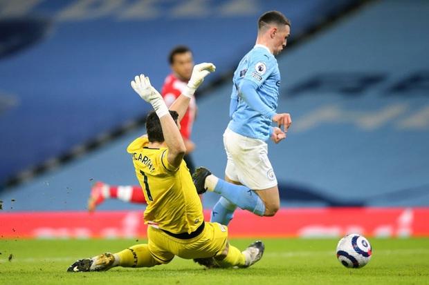 De Bruyne và Mahrez mỗi người 2 bàn, Man City huỷ diệt Southampton - Ảnh 4.