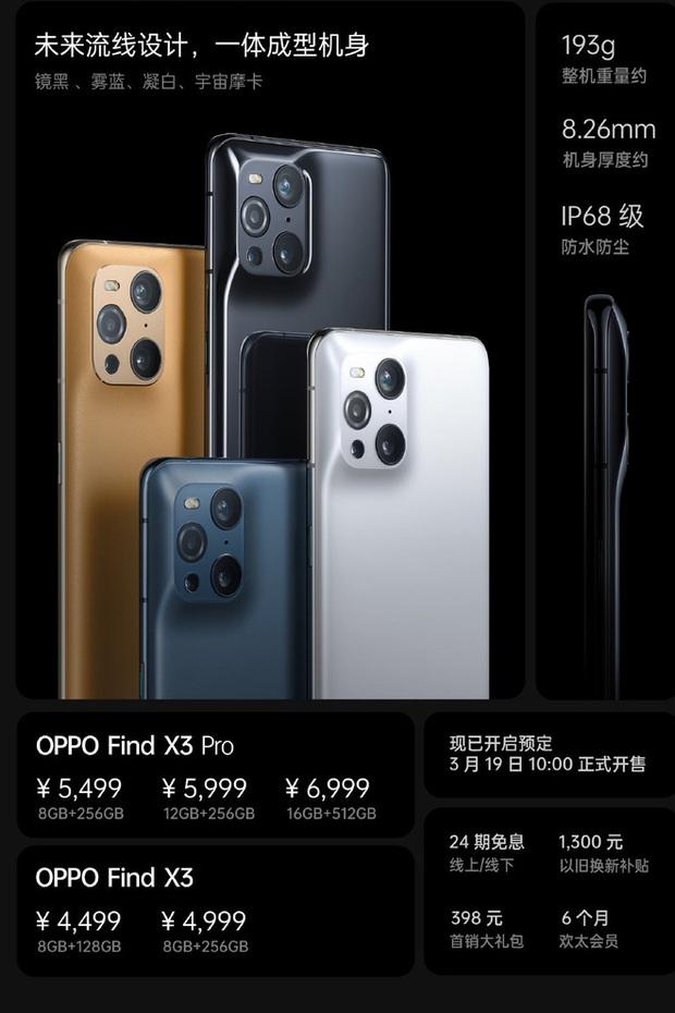 OPPO Find X3 series ra mắt: Camera như iPhone, màn hình LTPO 120Hz, Snapdragon 870/888, giá từ 15.9 triệu đồng - Ảnh 8.