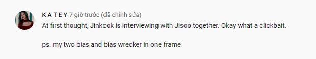 Náo loạn clip Jisoo (BLACKPINK) phỏng vấn cùng Jungkook - Jin (BTS), thực hư ra sao mà fan tranh cãi rầm rộ thế này? - Ảnh 7.