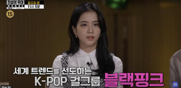 Náo loạn clip Jisoo (BLACKPINK) phỏng vấn cùng Jungkook - Jin (BTS), thực hư ra sao mà fan tranh cãi rầm rộ thế này? - Ảnh 4.