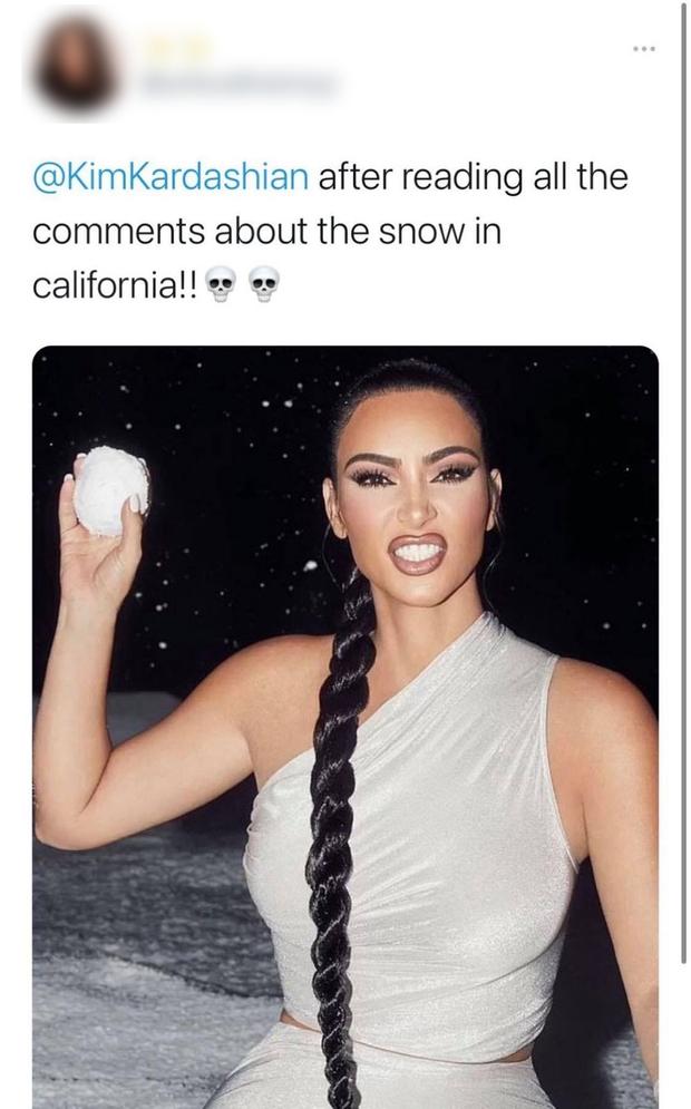 """Ngớ ngẩn như Kim Kardashian: Không phân biệt được tuyết với mưa đá, bị chửi thì la """"Tui có 30 nghề nhưng không rành khí tượng thuỷ văn!"""" - Ảnh 8."""