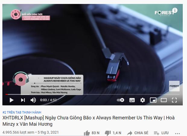 Văn Mai Hương rủ rê fan cùng song ca Always Remember Us This Way, nghe nốt cao xong lắc đầu xin rút lui thôi - Ảnh 4.