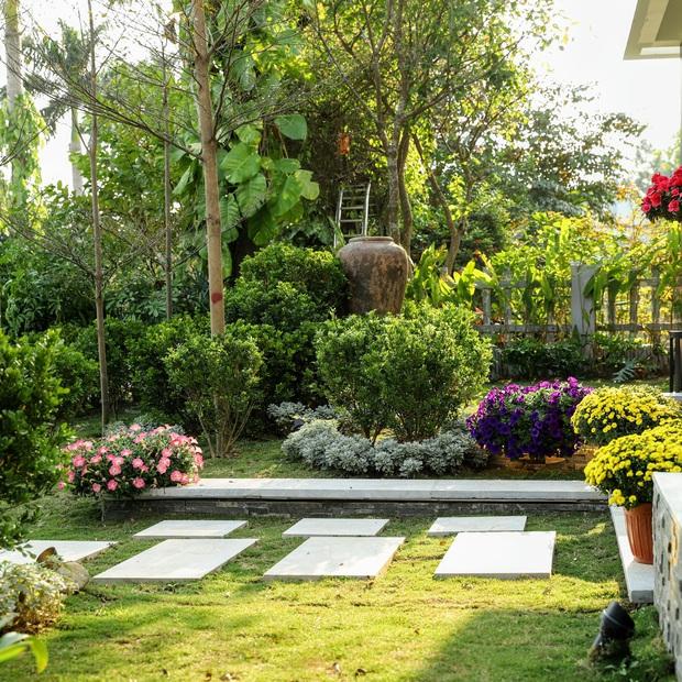 Gia đình doanh nhân Hà Nội xây căn villa 400m2 ở Flamingo - Đại Lải làm nơi nghỉ dưỡng dịp cuối tuần - Ảnh 2.