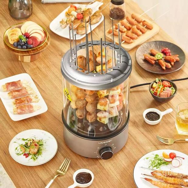 Check nhanh loạt đồ bếp nội địa Trung đang hot: Hay ho nhất là máy nướng thịt xiên, nhưng dân tình review ra sao? - Ảnh 7.