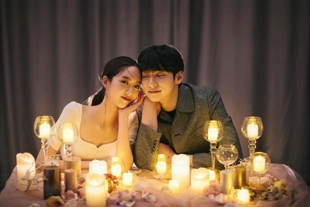 Sốc visual bộ ảnh rich kid xấc láo nhất Penthouse Han Ji Hyun hồi làm mẫu váy cưới: Xinh điên đảo, ở ngoài khác hẳn trên phim - Ảnh 11.
