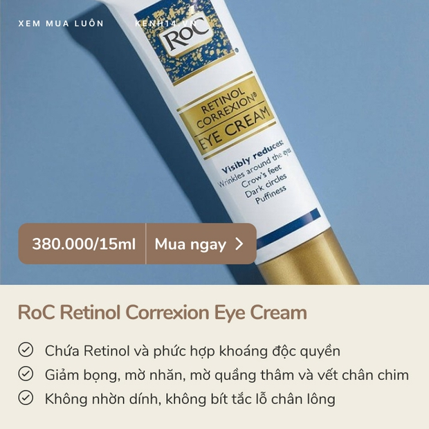 5 kem dưỡng mắt giảm thâm - nhăn - bọng đỉnh cao, không xài là tiếc - Ảnh 3.