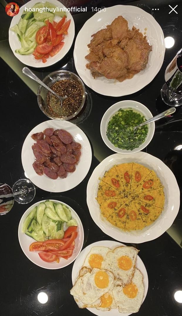Ghen nổ mắt với Hoàng Thuỳ Linh vì có người bạn đáng đồng tiền bát gạo: Sang nấu bữa tối từ 3h chiều, nhìn mâm cơm mà phát thèm - Ảnh 2.