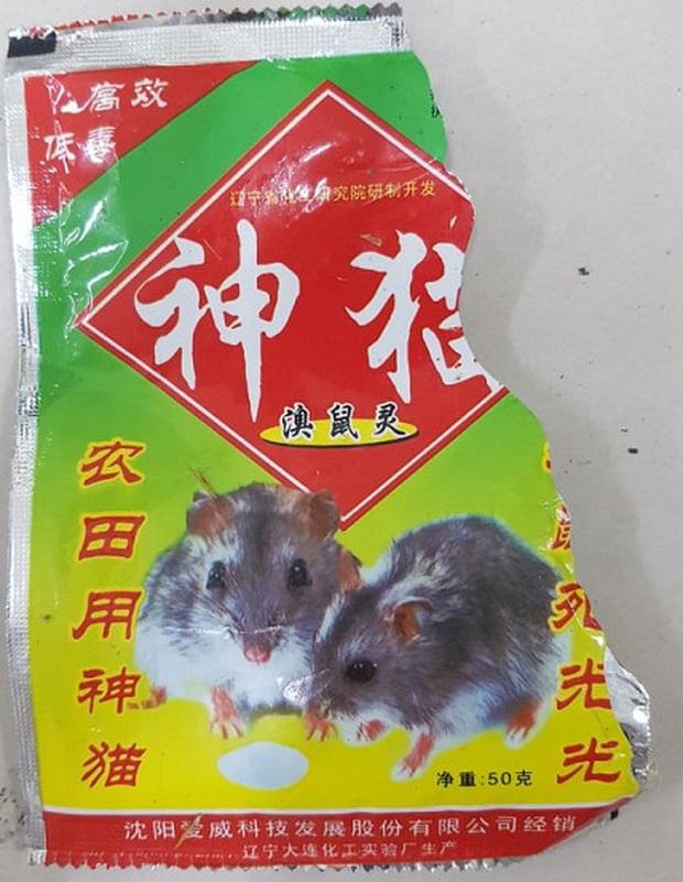Cấp cứu bệnh nhân ngộ độc thuốc diệt chuột Trung Quốc đã bị cấm 20 năm trước - Ảnh 2.