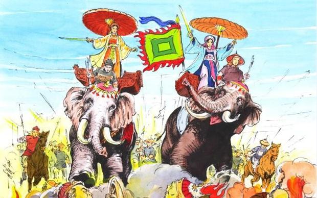 Nàng công chúa Disney gốc Việt đang gây bão Hollywood được lấy cảm hứng từ Hai Bà Trưng của Việt Nam - Ảnh 4.
