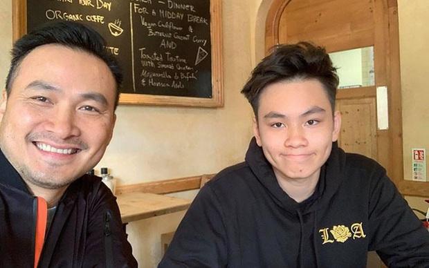 Con trai của Chi Bảo hồi nhỏ theo bố đi quay giờ lột xác như hot boy, tự đi du học - Ảnh 3.