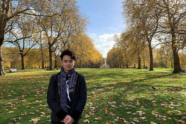 Con trai của Chi Bảo hồi nhỏ theo bố đi quay giờ lột xác như hot boy, tự đi du học - Ảnh 6.