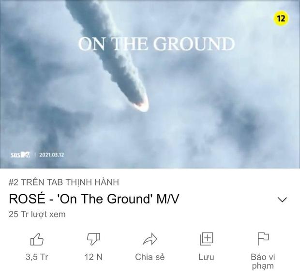 Rất tiếc cho Văn Mai Hương và Hoà Minzy, đang #1 trending tới nơi rồi mà lại bị Rosé (BLACKPINK) chặn giữa đường - Ảnh 2.