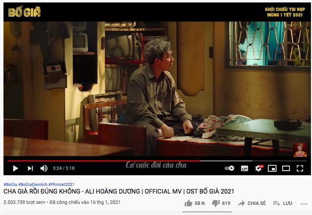 OST Bố Già lội ngược dòng thẳng tiến vị trí #4 realtime BXH HOT14, tăng view vèo vèo chỉ trong ít ngày - Ảnh 3.