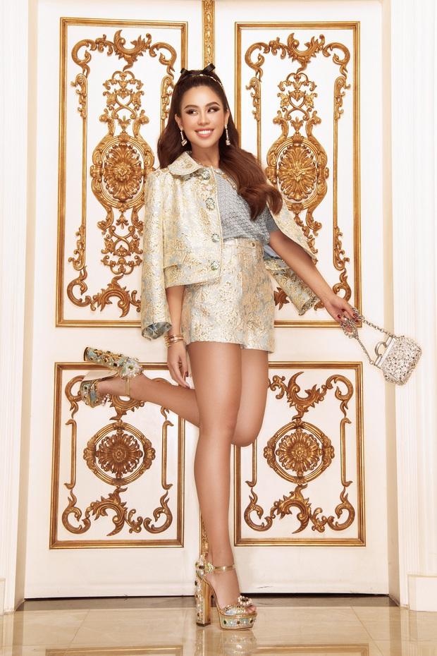 Rich kid Tiên Nguyễn bùng nổ nhan sắc, khoe vẻ sexy điếng người trong loạt thiết kế hàng hiệu - Ảnh 7.