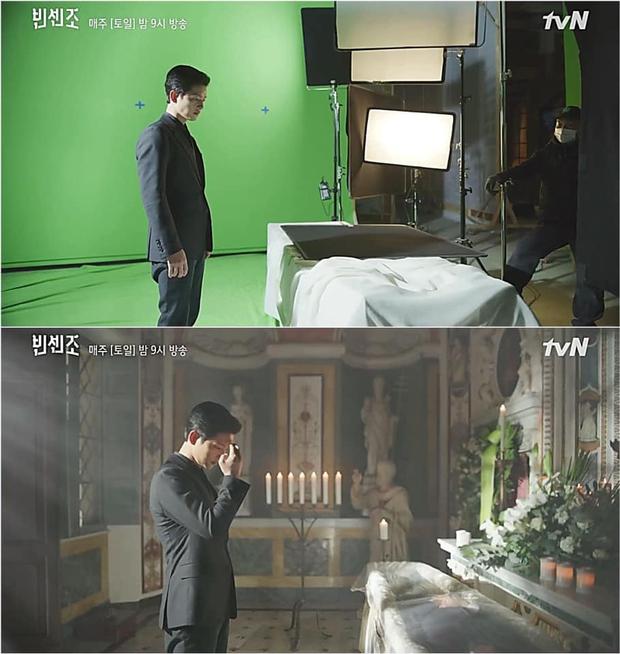 Cảnh quay ở Ý của Song Joong Ki trong Vincenzo ảo diệu là thế vẫn bị netizen la ló sao giả trân vậy trời! - Ảnh 8.