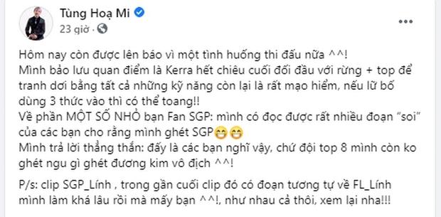 Lai Bâng lên tiếng bảo vệ người hâm mộ, khẳng định BLV Thanh Tùng đã sai - Ảnh 2.