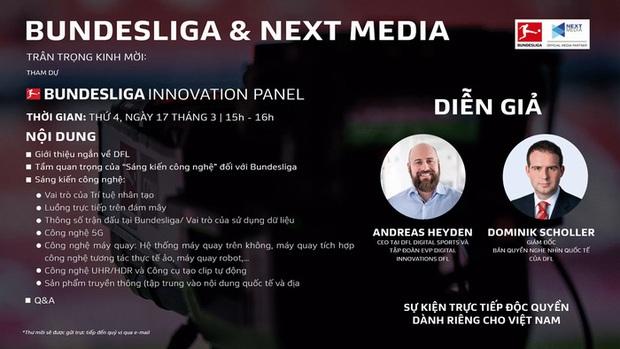 Next Media phối hợp với Bundesliga tổ chức hội thảo Sáng kiến công nghệ - Ảnh 3.