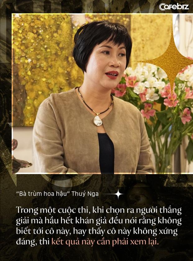 Bà trùm hoa hậu Thuý Nga - TGĐ Elite Việt Nam: Các cô gái Việt dễ nhìn hơn các nước láng giềng, nhưng hiếm thấy nhan sắc nổi bật vì các em đang tự triệt tiêu cá tính của mình - Ảnh 5.