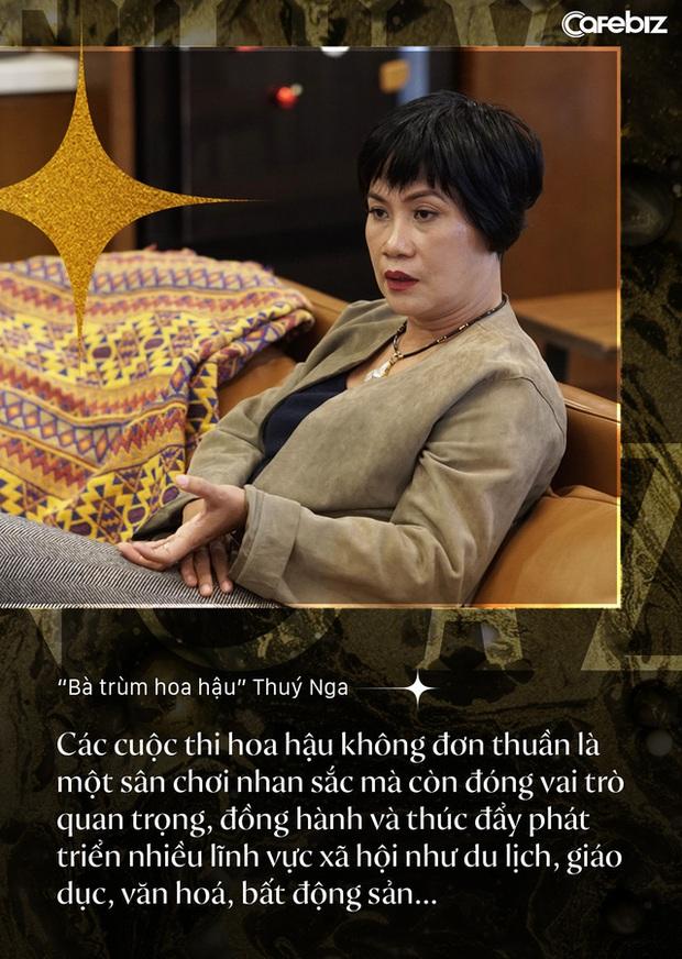 Bà trùm hoa hậu Thuý Nga - TGĐ Elite Việt Nam: Các cô gái Việt dễ nhìn hơn các nước láng giềng, nhưng hiếm thấy nhan sắc nổi bật vì các em đang tự triệt tiêu cá tính của mình - Ảnh 10.