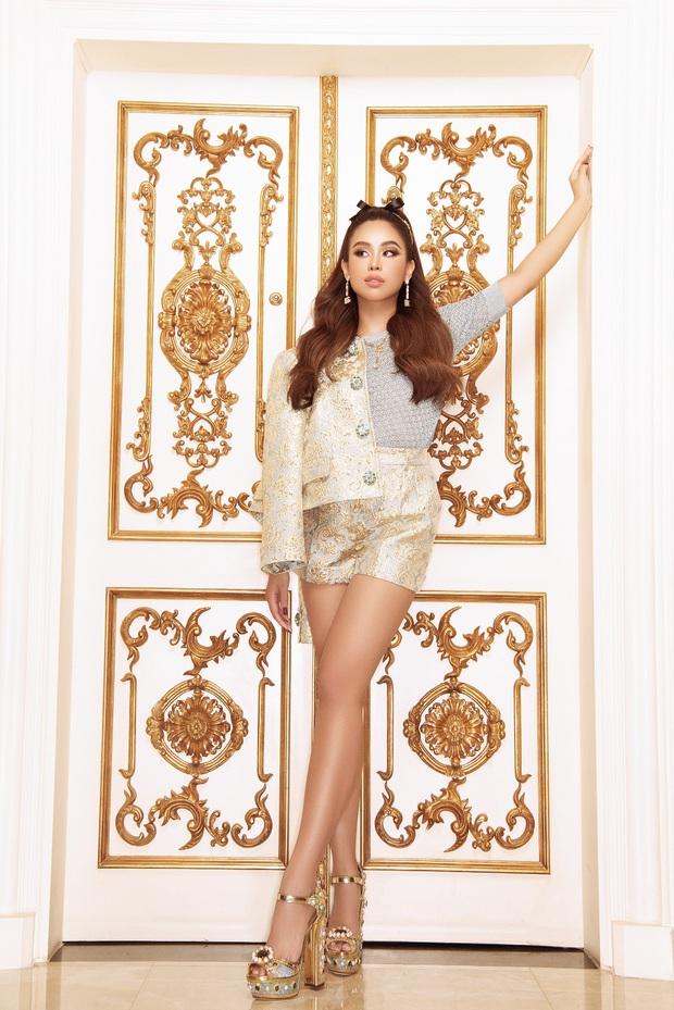 Rich kid Tiên Nguyễn bùng nổ nhan sắc, khoe vẻ sexy điếng người trong loạt thiết kế hàng hiệu - Ảnh 6.