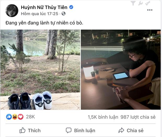 HOT: Lần đầu Tiên Tiên công khai đăng ảnh khoe có bồ, fan cãi nhau xem người ấy là con gái hay con trai? - Ảnh 1.