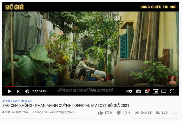 Vượt mặt Trấn Thành và bộ đôi Văn Mai Hương - Hoà Minzy, Rosé (BLACKPINK) chính thức đạt top 1 trending YouTube Việt Nam! - Ảnh 3.