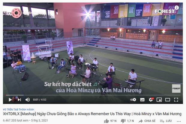 Vượt mặt Trấn Thành và bộ đôi Văn Mai Hương - Hoà Minzy, Rosé (BLACKPINK) chính thức đạt top 1 trending YouTube Việt Nam! - Ảnh 4.