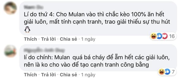 Netizen nghi ngờ Mulan của Lưu Diệc Phi  thoát Mâm Xôi Vàng nhờ Disney bảo kê? - Ảnh 9.