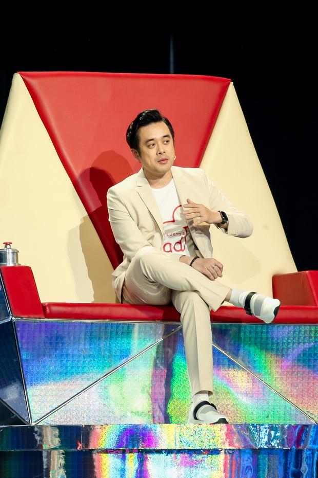 Dương Khắc Linh trở lại ghế nóng Giọng Hát Việt Nhí 2021 chỉ để loại thí sinh - Ảnh 1.