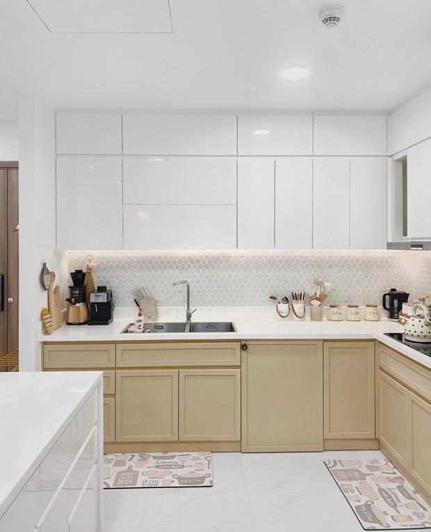 Cặp vợ chồng thiết kế nhà theo tông trắng - nâu đơn giản mà sang cực, nghe chia sẻ ý nghĩa tổ ấm là thấy ngưỡng mộ liền - Ảnh 10.