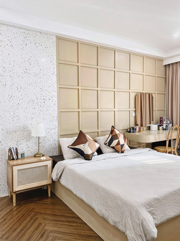 Cặp vợ chồng thiết kế nhà theo tông trắng - nâu đơn giản mà sang cực, nghe chia sẻ ý nghĩa tổ ấm là thấy ngưỡng mộ liền - Ảnh 13.