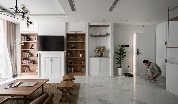 CEO đổi 2 đơn vị thiết kế để tân trang căn hộ có view sông Hồng, chỉ riêng việc lên ý tưởng đã tốn mất 10 tháng - Ảnh 1.