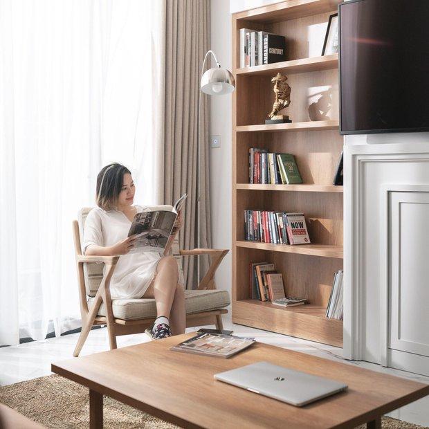 CEO đổi 2 đơn vị thiết kế để tân trang căn hộ có view sông Hồng, chỉ riêng việc lên ý tưởng đã tốn mất 10 tháng - Ảnh 7.