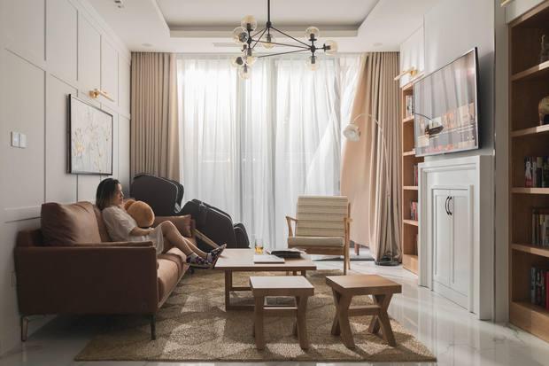 CEO đổi 2 đơn vị thiết kế để tân trang căn hộ có view sông Hồng, chỉ riêng việc lên ý tưởng đã tốn mất 10 tháng - Ảnh 5.
