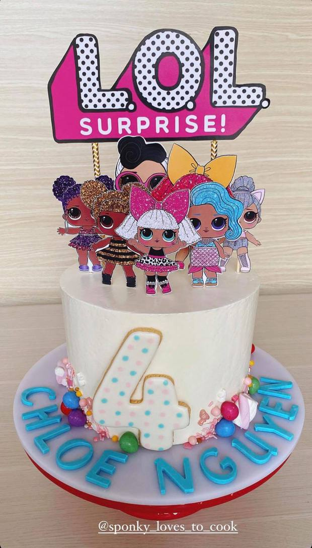 Quá nể phục Hà Tăng: Làm bánh sinh nhật cho con gái mỹ mãn hơn cả ngoài hàng, chẳng gì làm khó được chị! - Ảnh 1.