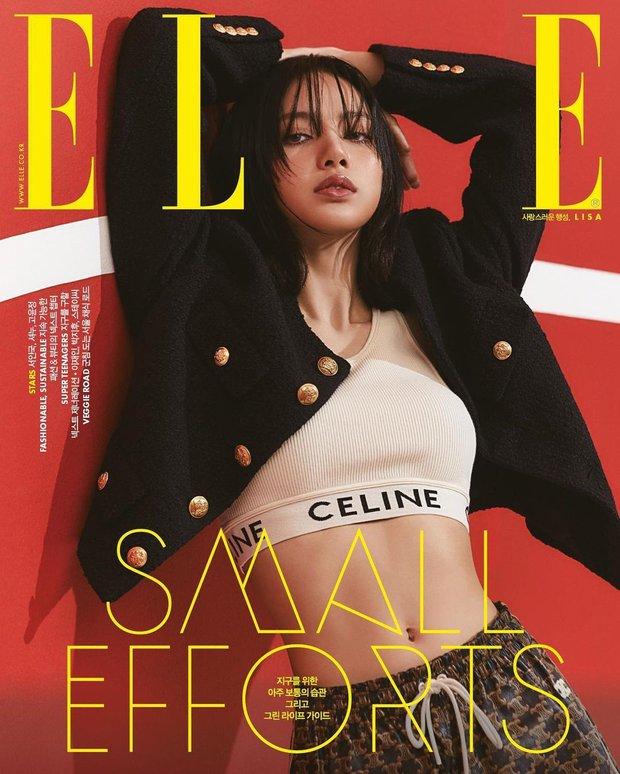 Rửa mắt xem Jennie - Lisa (BLACKPINK) đại chiến trên bìa tạp chí: Eo siêu nhỏ có đọ lại vòng 1 nghẹt thở của Chanel sống? - Ảnh 2.