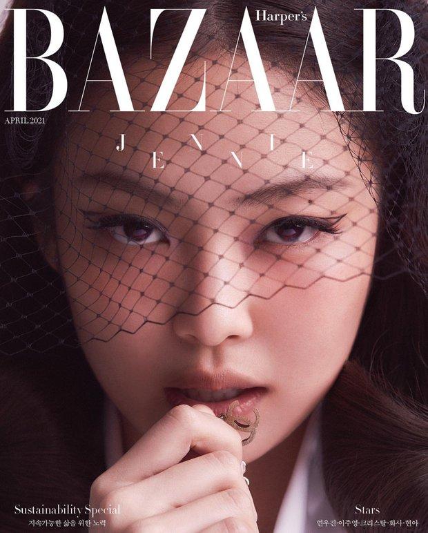Rửa mắt xem Jennie - Lisa (BLACKPINK) đại chiến trên bìa tạp chí: Eo siêu nhỏ có đọ lại vòng 1 nghẹt thở của Chanel sống? - Ảnh 8.
