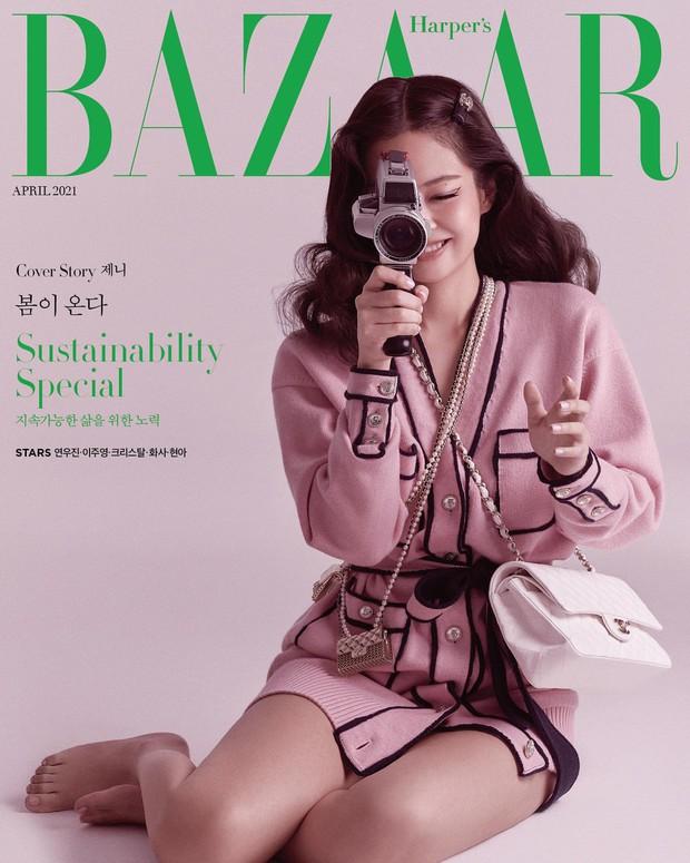 Rửa mắt xem Jennie - Lisa (BLACKPINK) đại chiến trên bìa tạp chí: Eo siêu nhỏ có đọ lại vòng 1 nghẹt thở của Chanel sống? - Ảnh 10.