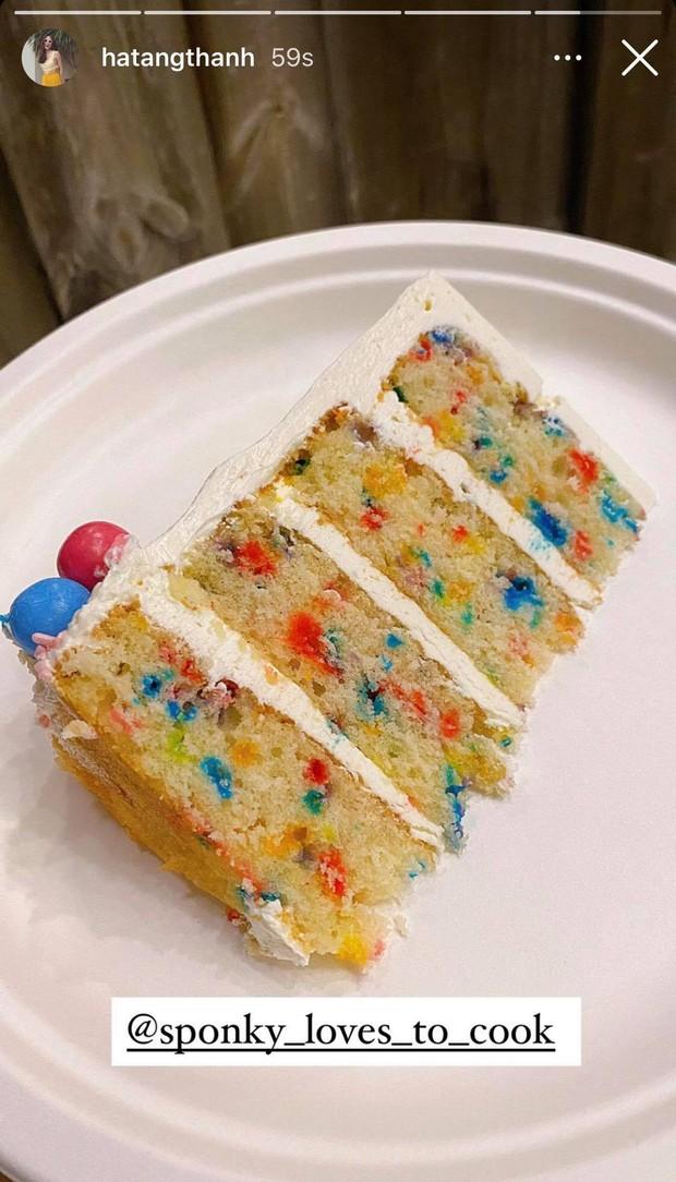 Quá nể phục Hà Tăng: Làm bánh sinh nhật cho con gái mỹ mãn hơn cả ngoài hàng, chẳng gì làm khó được chị! - Ảnh 3.