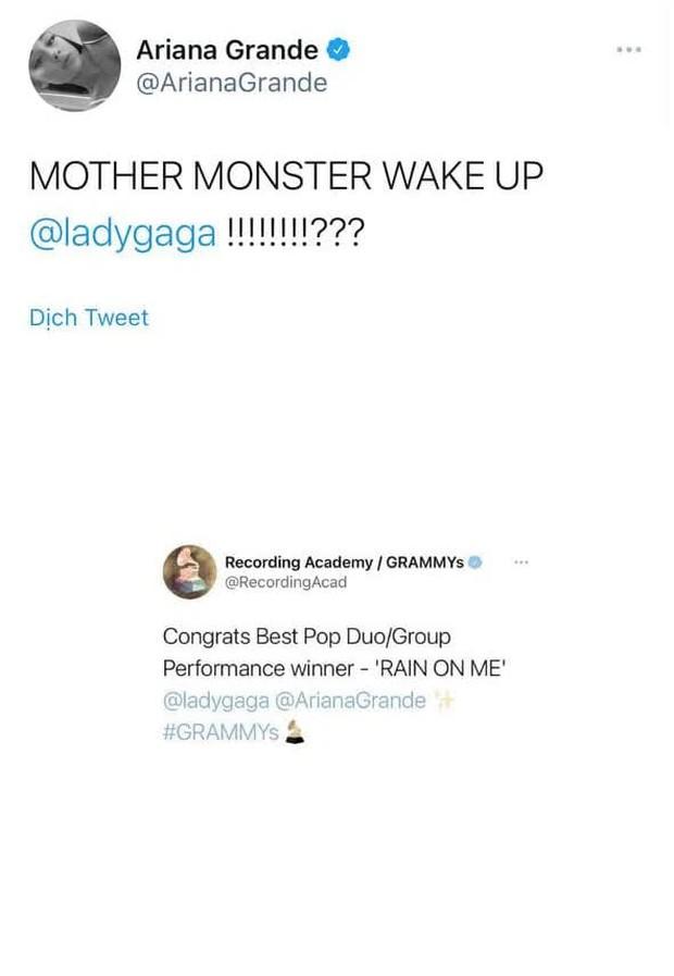 Grammy 2021: Taylor Swift thắng xứng đáng, BTS trắng tay, Ariana Grande gọi dậy nhận giải nhưng Lady Gaga vẫn không hồi âm - Ảnh 6.
